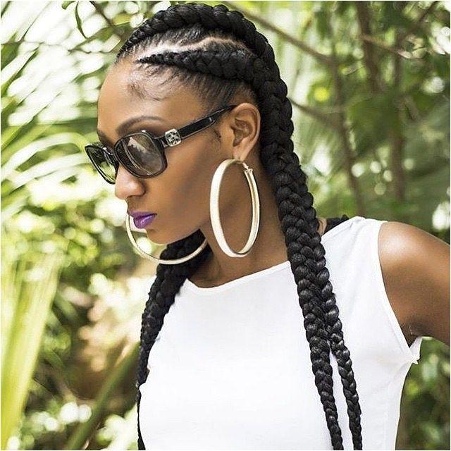 6 Braid Hairstyle Ghana Braids 6 Glamorous Hairstyles