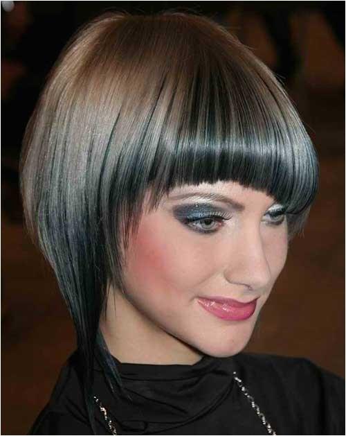 Angled Bob Haircuts with Bangs 20 Angled Bobs with Bangs