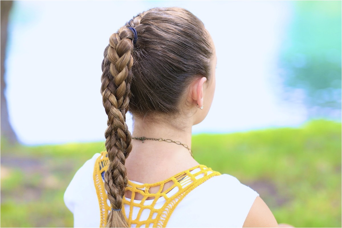 Athletic Braided Hairstyles the Run Braid Bo Hairstyles for Sports