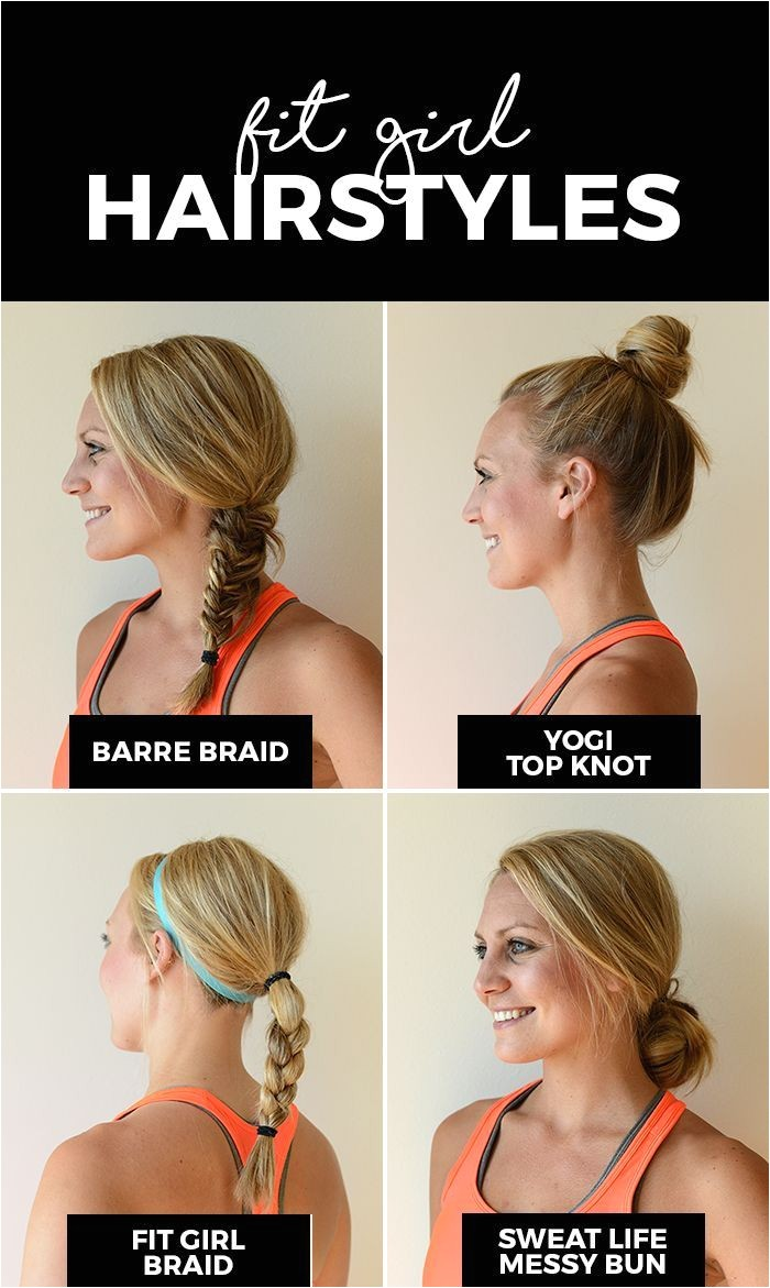 Basketball Hairstyles for Girls Best Fit Girl Hairstyles Hair & Beauty Pinterest