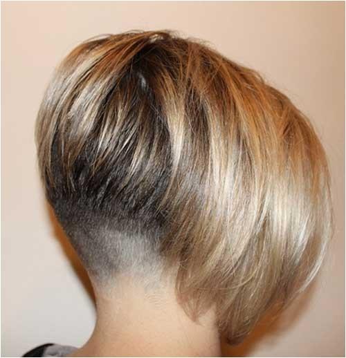Bob Haircut with Shaved Nape 25 Short Inverted Bob Hairstyles