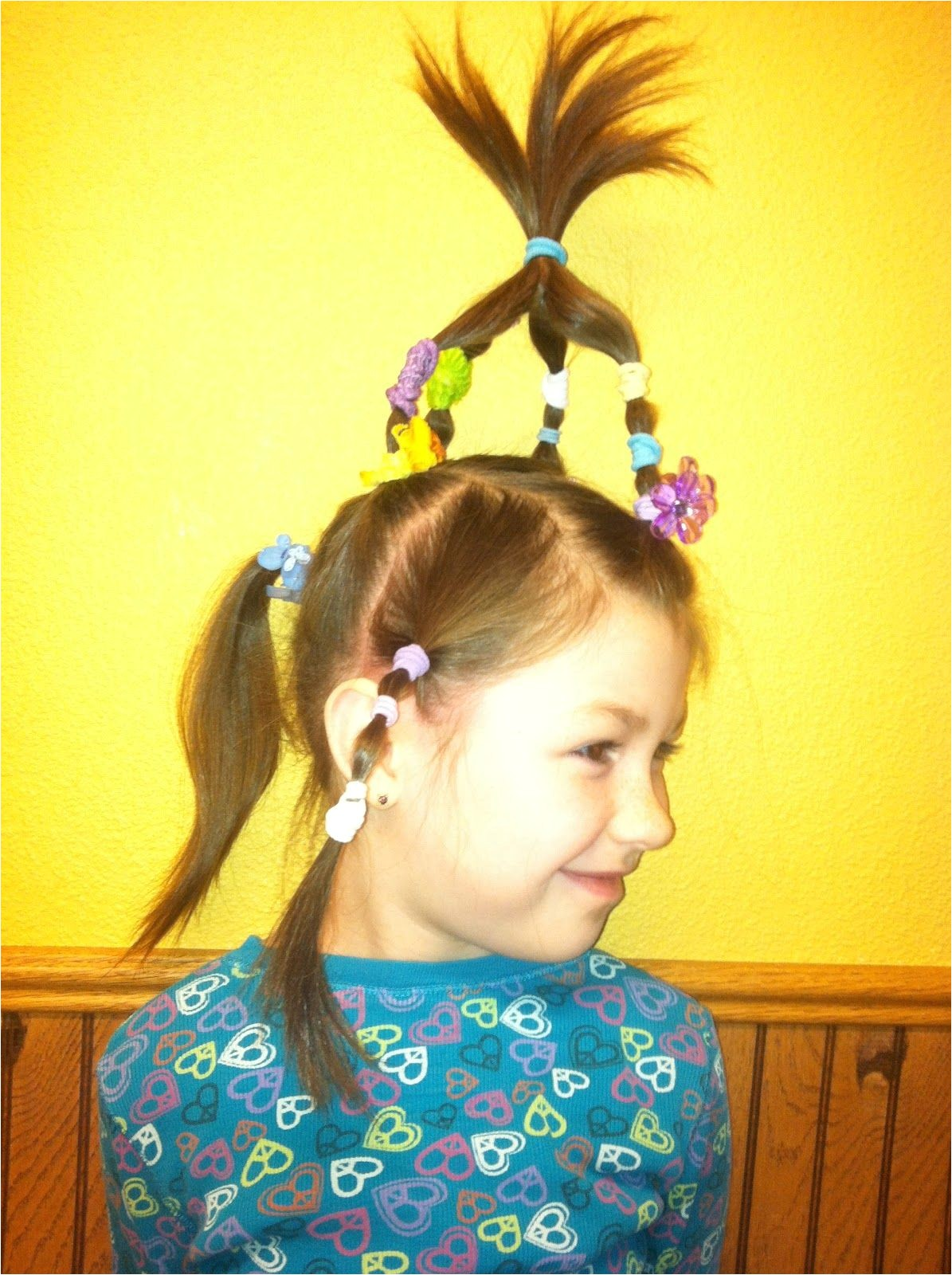 Crazy Hairstyles for Girl Crazy Hair Day Ideas
