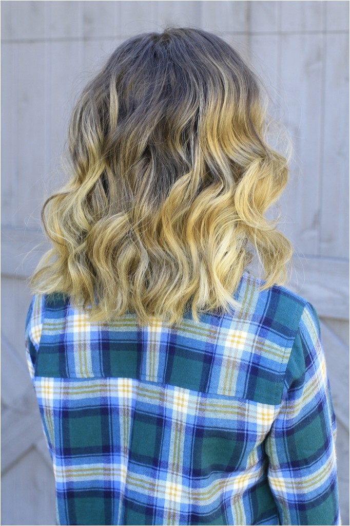 Cute Curling Wand Hairstyles 5 Easy Hairstyles for Back to School