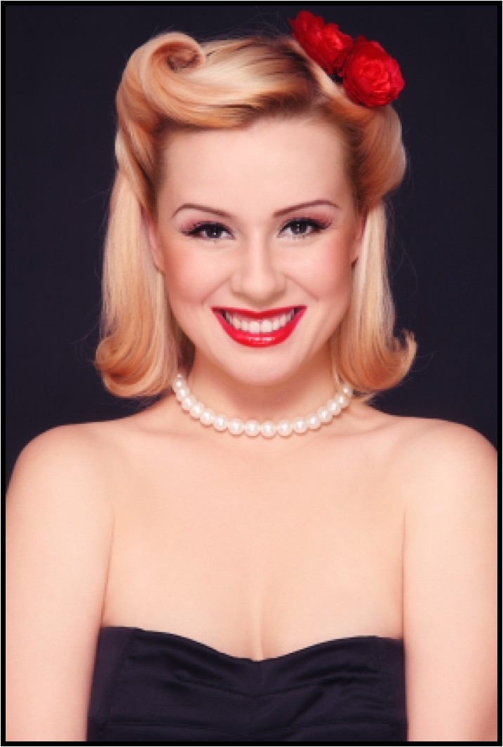 Cute Easy Pin Up Hairstyles Easy Pin Up Hairstyles for Medium Hair You Should Really