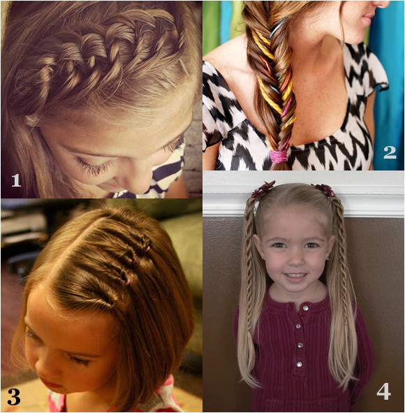 Cute First Day Of School Hairstyles Girls Hairstyles for Back to School