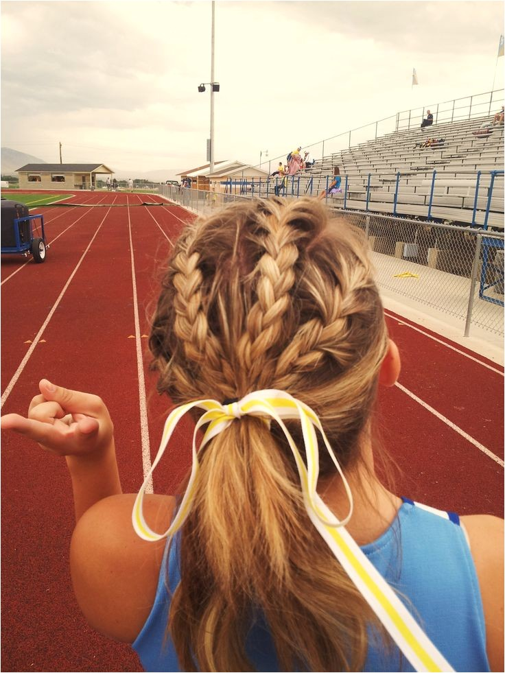 Cute Hairstyles for softball Games Braids is Would Be Cute for Volleyball Games and Track