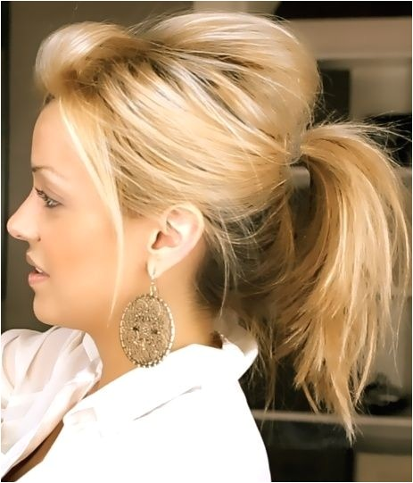 Cute Hairstyles Up In A Ponytail 20 Ponytail Hairstyles Discover Latest Ponytail Ideas now