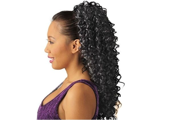 Drawstring Ponytail Hairstyles for Black Hair Drawstring Ponytail Hairstyles for Black Hair