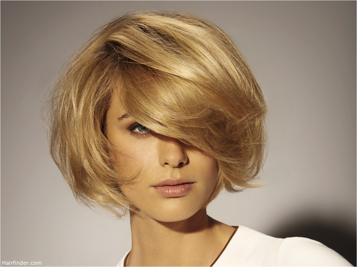 Easy to Maintain Bob Haircuts Easy to Maintain Blonde Bob with Diagonal Bangs