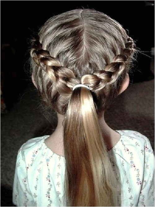 French Braid Hairstyles for Little Girls Pretty Little Girls Hairstyles Braids