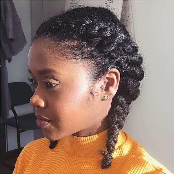 French Braid Hairstyles for Natural Hair 35 Two French Braids Hairstyles to Double Your Style