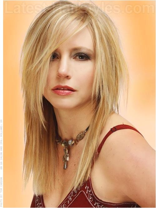 Hairstyles for Long Faces with Fine Hair Best Long Hairstyles for Women with Round Faces
