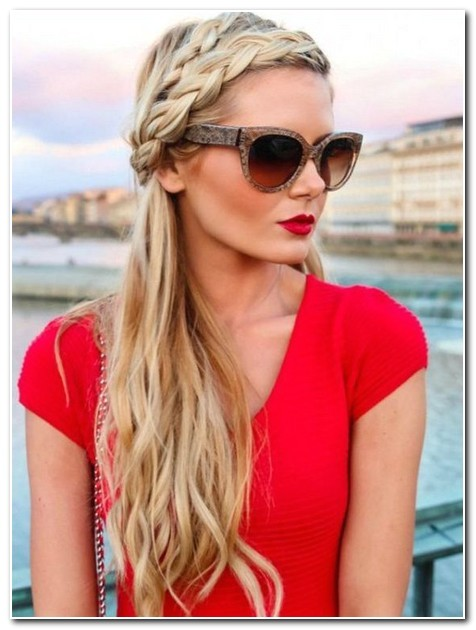 Hairstyles with One Braid In the Front Hairstyles with One Braid In the Front