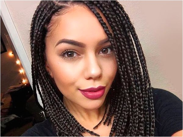 Individual Braids Hairstyles Pictures Individual Braids Hairstyles Collection Of Single Braid