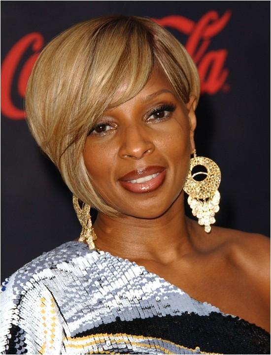 Mary J Blige Bob Haircut 25 Cool Stylish Bob Hairstyles for Black Women
