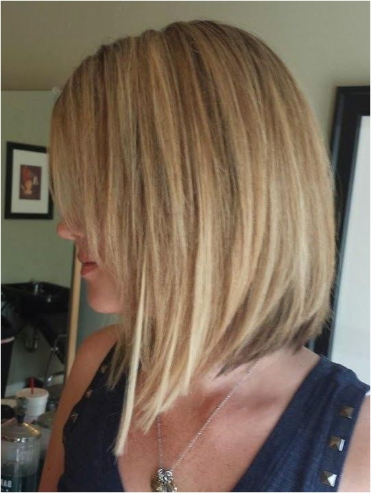 Medium Concave Bob Haircut 15 Collection Of Medium Length Inverted Bob Hairstyles for