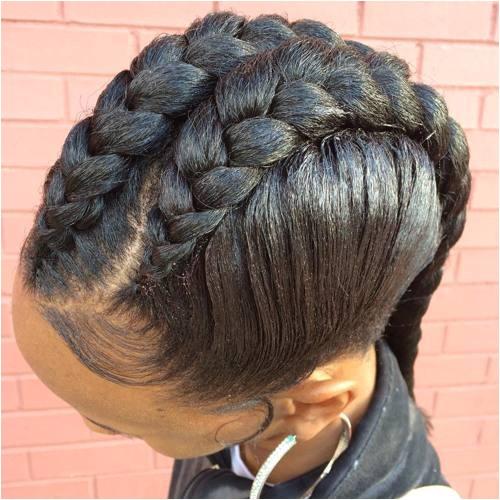 One Goddess Braid Hairstyle 40 Inspiring Examples Of Goddess Braids