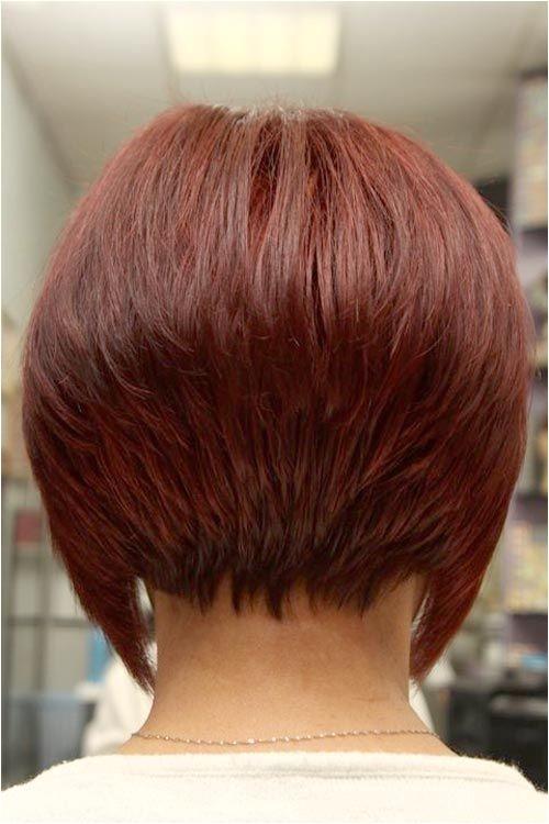 Short Inverted Bob Haircut Back View Short Angled Inverted Bob Hairstyles Back View Beauty