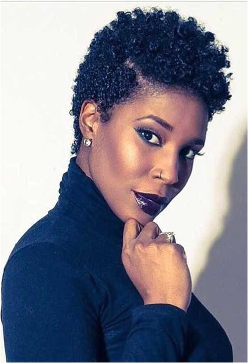 Short Natural Hairstyles for Black Women 2018 2018 Latest Short Haircuts for Natural Hair Black Women