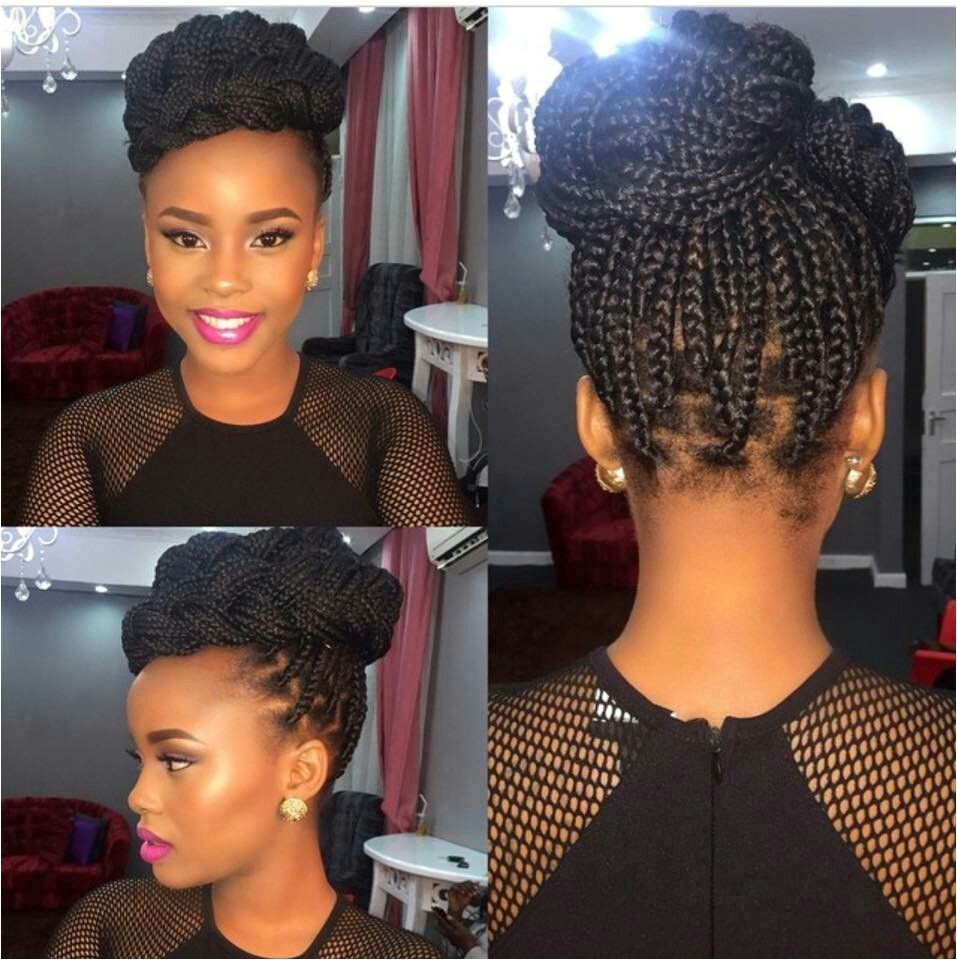Updo Hairstyles for Box Braids Single Braid Updo Style Perfect 4 Any formal Occasion