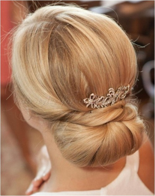 Chignon Hairstyles for Weddings Low Bun Wedding Hairstyles Chignon for Weddings
