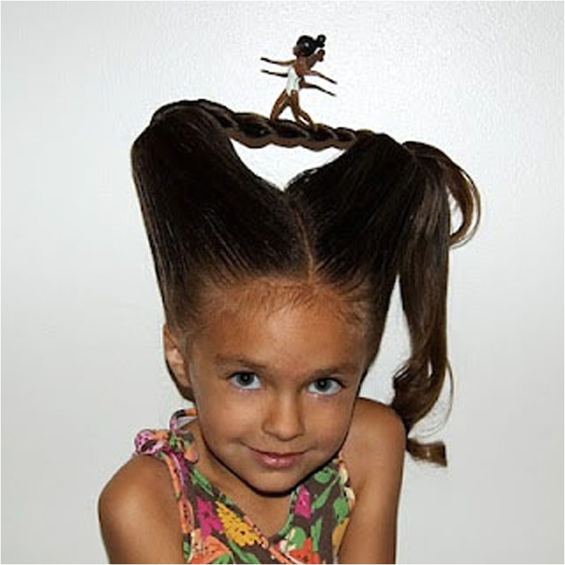 Crazy but Easy Hairstyles Crazy Hair Day Ideas for Long Hair