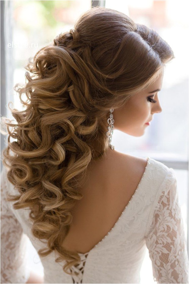 Down Do Hairstyles for Wedding 10 Gorgeous Half Up Half Down Wedding Hairstyles