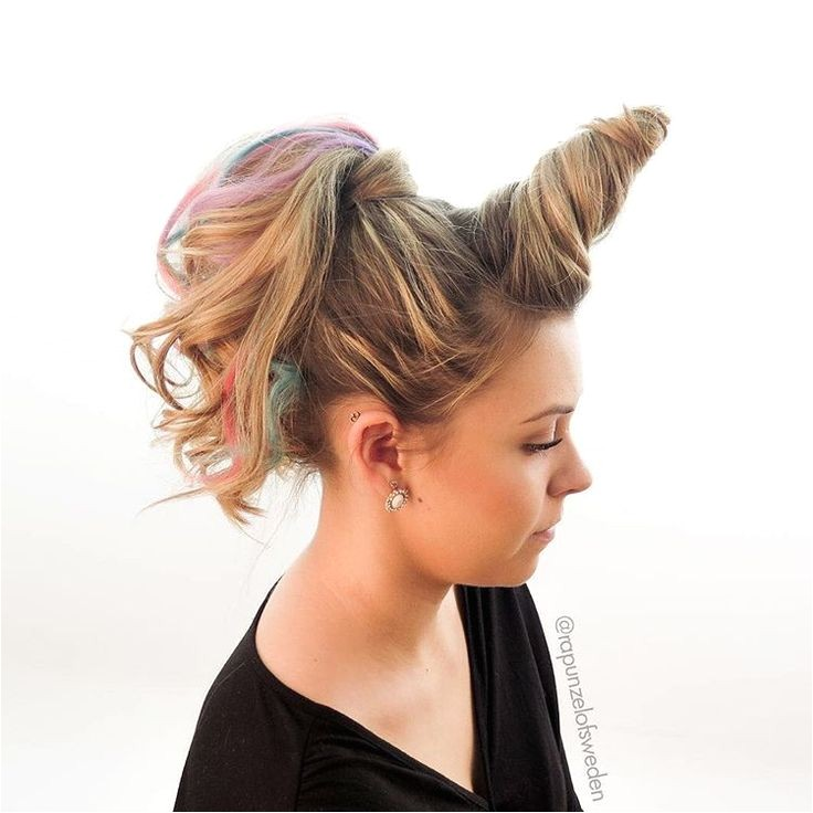 Easy Hairstyles for Crazy Hair Day Perfect for Vbs Crazy Hair Day for Hadley Bear
