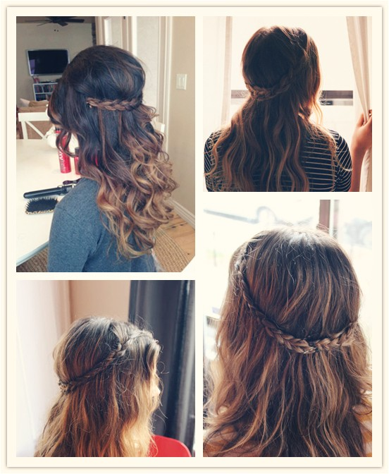 Easy Hairstyles with Extensions 5 Hairstyles for Holiday with 20 Inch Hair Extensions
