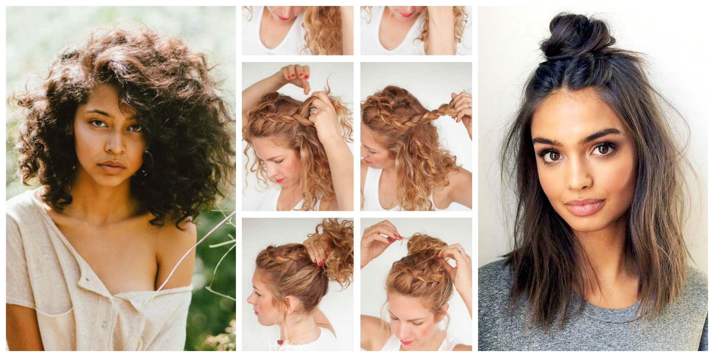 Easy Hairstyles without Heat No Heat Hairstyles that are Superpopular On Pinterest