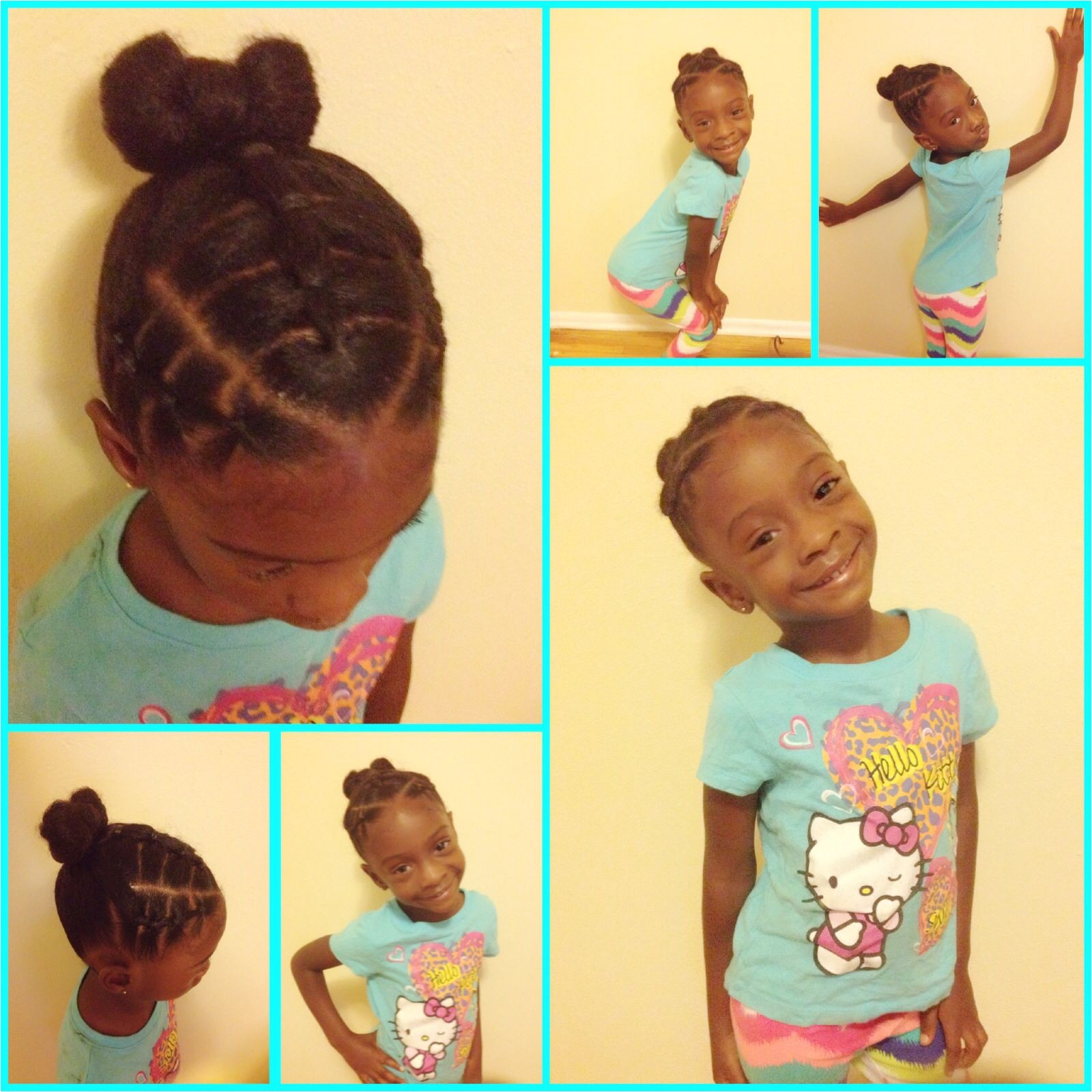 Easy Ponytail Hairstyles for Kids Cute toddler Hairstyles Little Girls Hairstyles Black