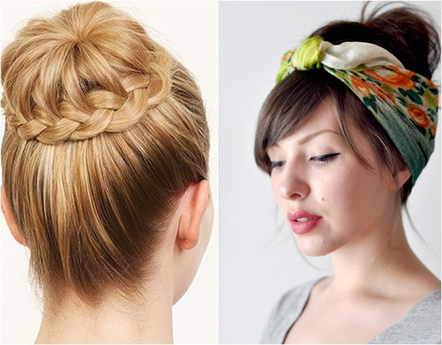 Easy Put Up Hairstyles Hair Parlor Easy Hair Styles for Longer Locks the