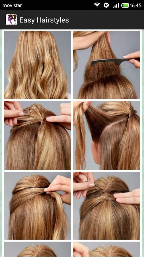 Easy to Do Hairstyles Step by Step Simple Diy Braided Bun & Puff Hairstyles Pictorial