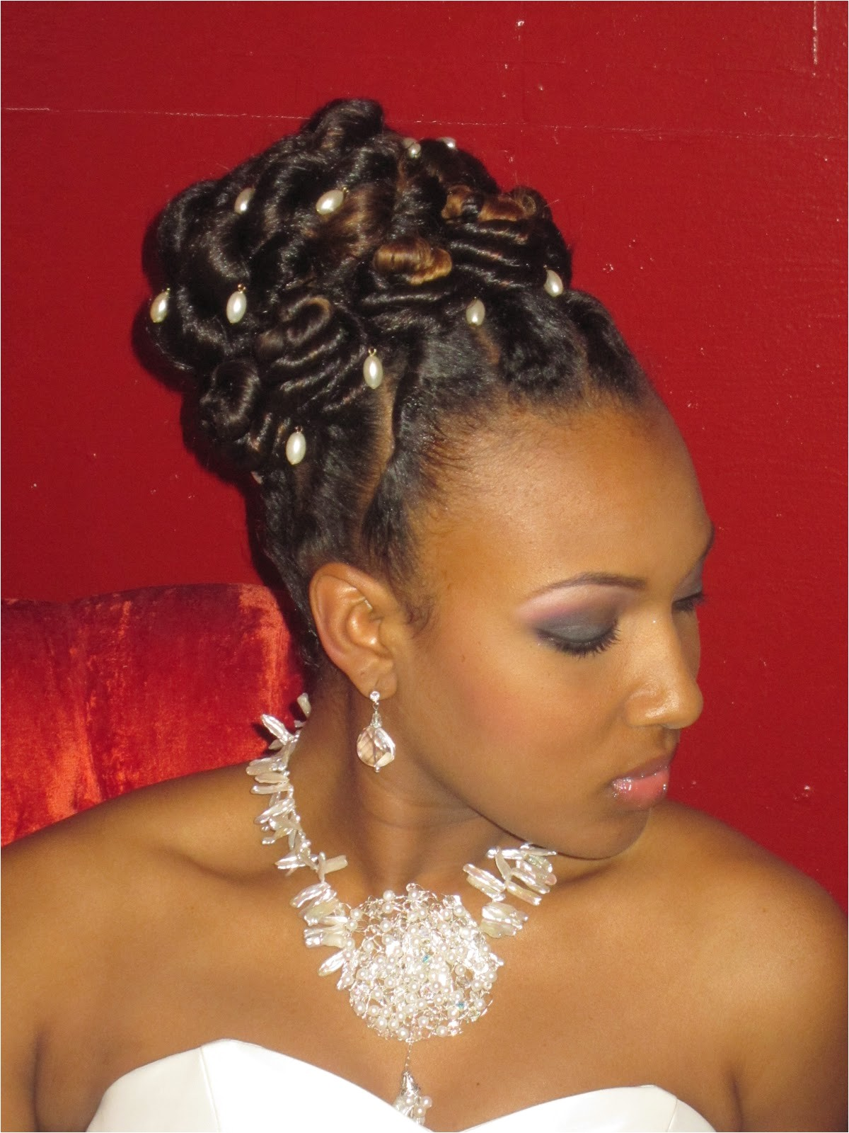 Flat Twist Wedding Hairstyles Maria Hairtistic Designer Bridal Shoot