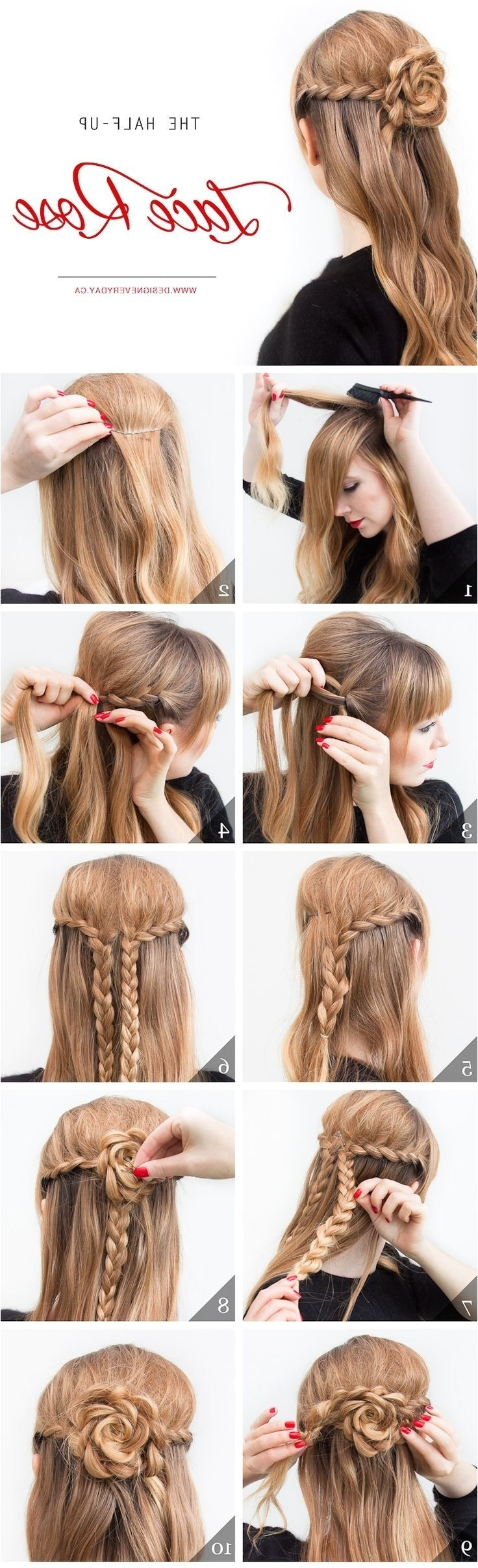Hairstyles for Church Easy Hairstyles for Church Easy