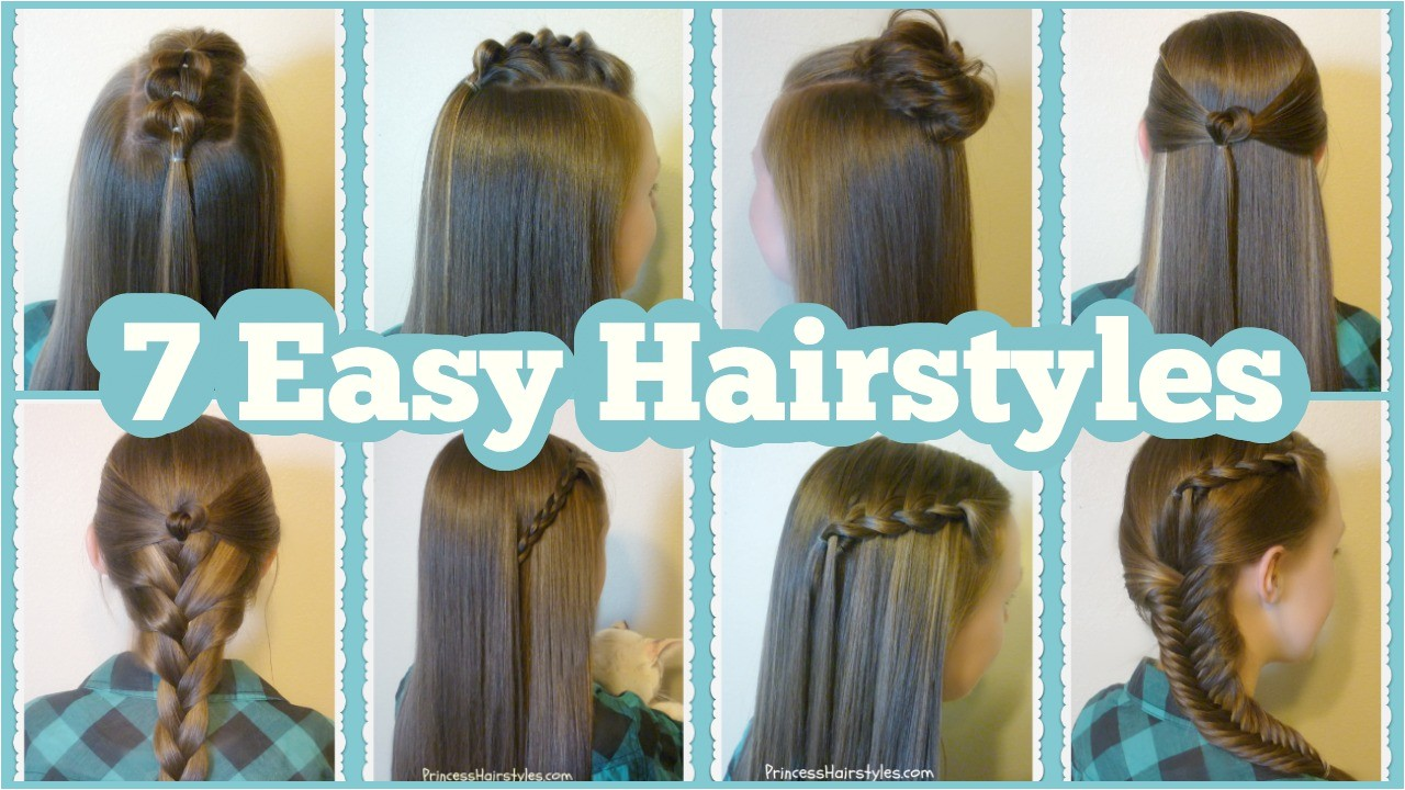 How to Do A Easy Hairstyle for School 7 Quick & Easy Hairstyles for School Hairstyles for