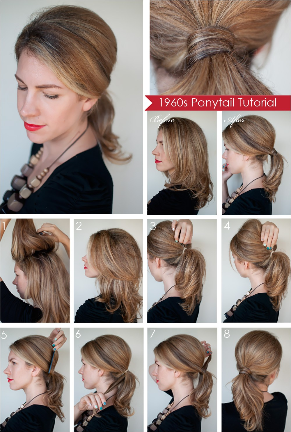 How to Make A Easy Hairstyle Hairstyle How to Create A 1960s Style Ponytail Hair Romance