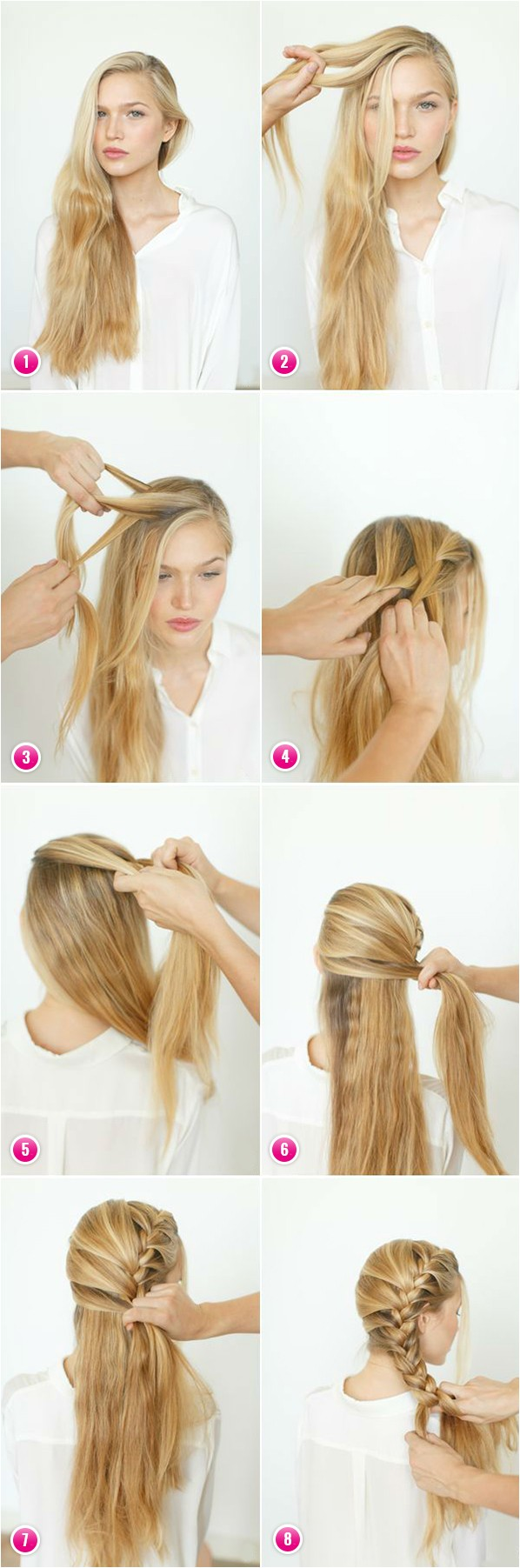 How to Make Easy Hairstyle for Long Hair Creative Hairstyles for Long Hair
