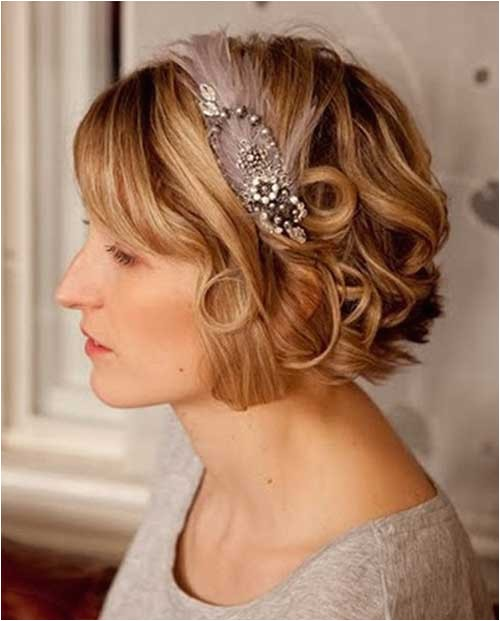 Short Bob Hairstyles for Weddings 30 Wedding Hair Styles for Short Hair