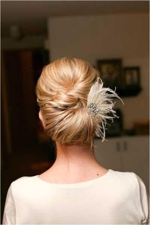 Simple Updo Hairstyles for Weddings 25 Simple Bridal Hairstyles