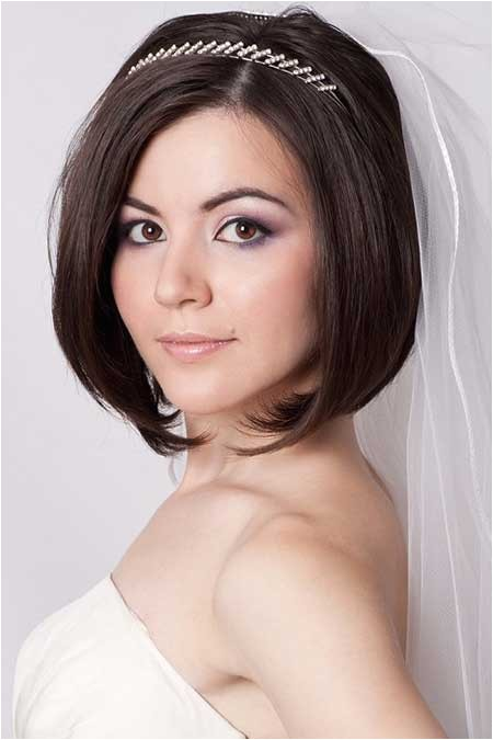 Wedding Hair for Bob Hairstyle 25 Wedding Hairstyles for Short Hair
