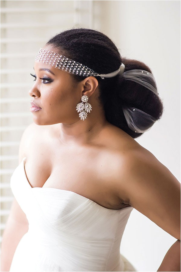 Wedding Hairstyle for Black Bride 8 Glam and Gorgeous Black Wedding Hairstyles