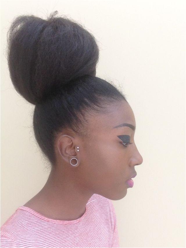 Black Hairstyles High Buns 4c Hair Afro Hair Natural Afro Hair Afro High Buns 4c Hairstyle