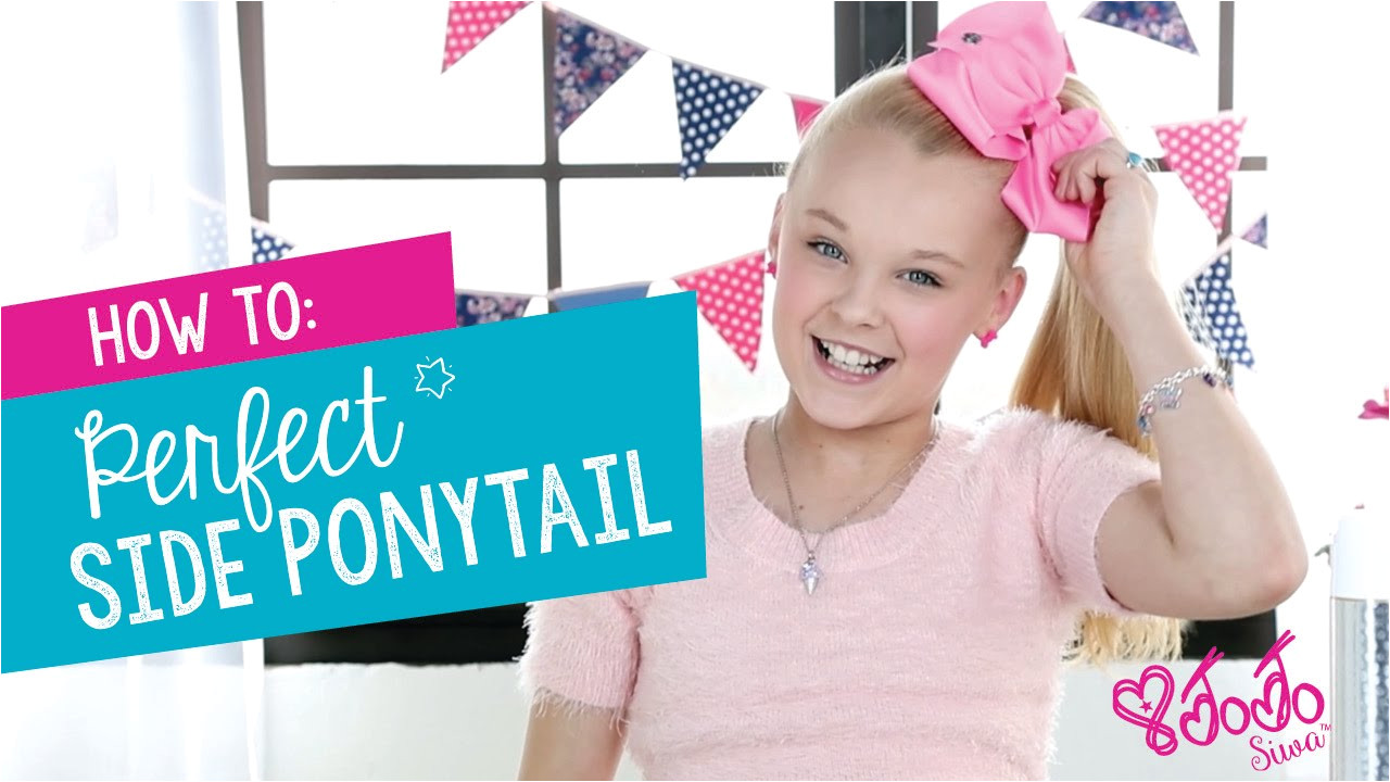 Cute Hairstyles Jojo Siwa How to Create the Perfect Jojo Siwa Side Ponytail