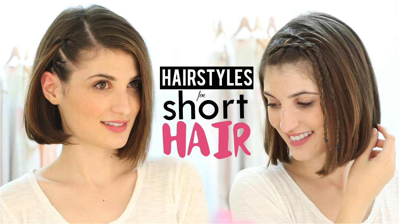 Easy Hairstyles for Short Hair for Beginners Hairstyles for Short Hair Tutorial