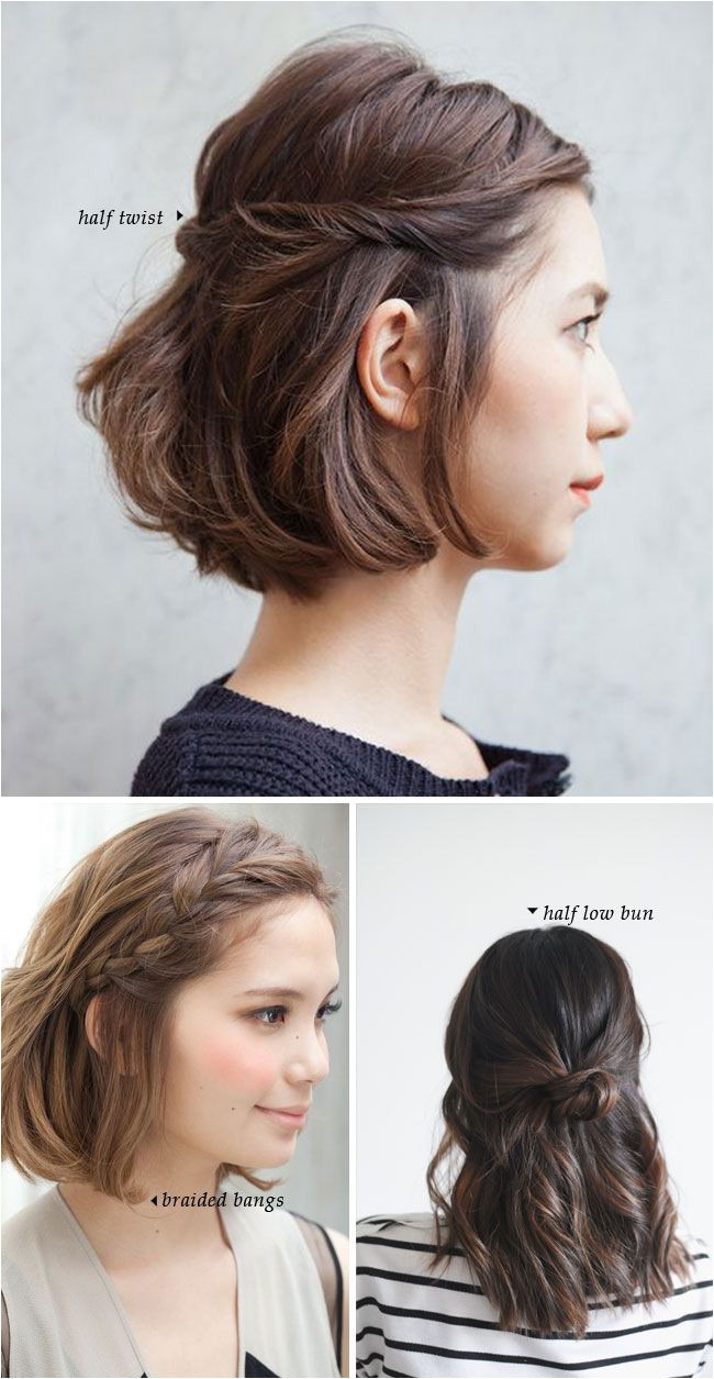 Easy Hairstyles You Can Do with Short Hair Short Hair Do S 10 Quick and Easy Styles Hair Perfection