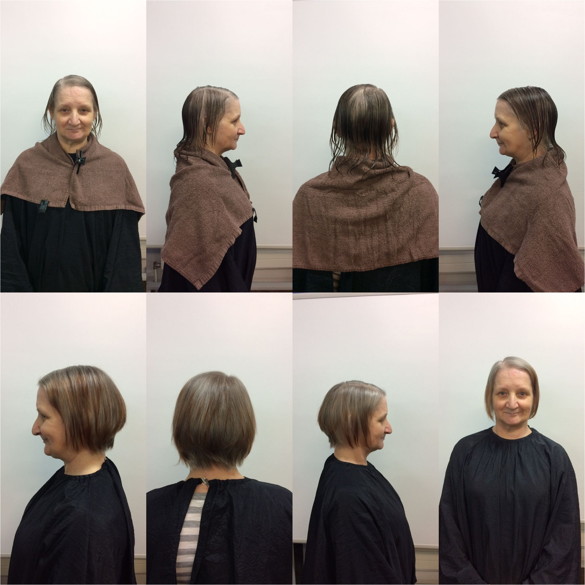 Haircuts norman My Lovely Client Geraldine norman before and after 😍😍