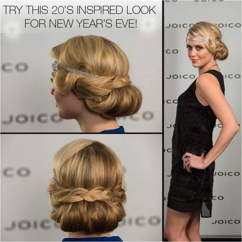 1920s Hairstyles Buns Cute 1920 1930s Hairstyle Great for Weddings or A Night Out