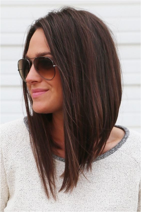 Black Hairstyles Long In Front Short In Back 45 Cute Long Bob Hairstyles and Haircuts In 2017 Hair