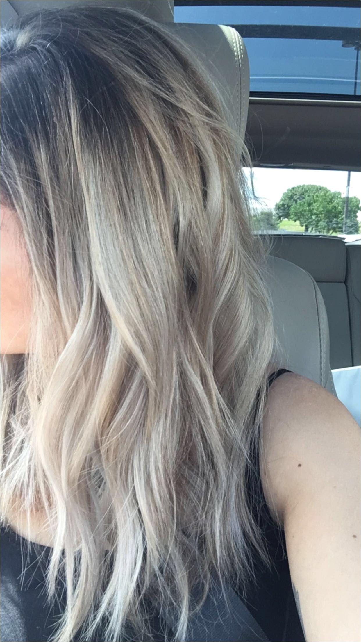 Blonde Hairstyles Dark Roots Blonde Hair Dark Roots Ombré Hair Pinterest